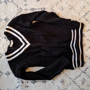 Tennis sweater for fall